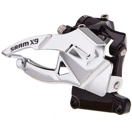 SRAM X9 10 Speed (2x10) Front Derailleur - Top Pull/42T/S1