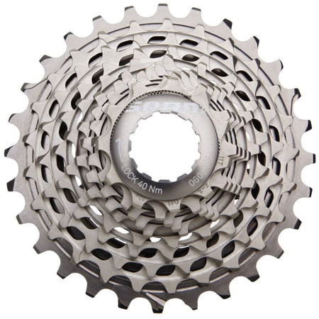 SRAM XG1090 Red 10 Speed Cassette (Powerdome X) - 11-25 Silver