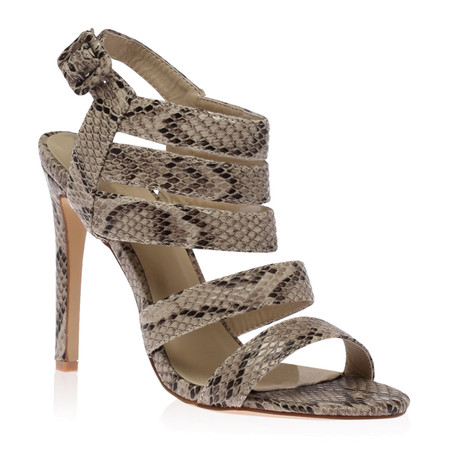 Sahara Stiletto in Beige