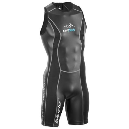 Sailfish Blade Sleeveless Wetsuit - Small Black   Wetsuits