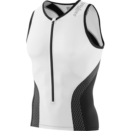 Sailfish Comp Tri Top - Extra Large White | Tri Tops