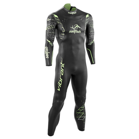 Sailfish Vibrant Wetsuit - X Small Black/Green | Wetsuits