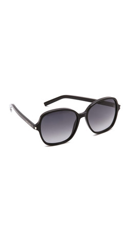 Saint Laurent Classic Glam Sunglasses - Black/Grey Gradient