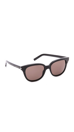 Saint Laurent Classic Sunglasses - Black/Brown