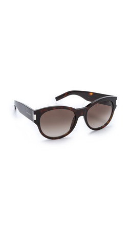 Saint Laurent Classic Sunglasses - Dark Havana/Brown Gradient