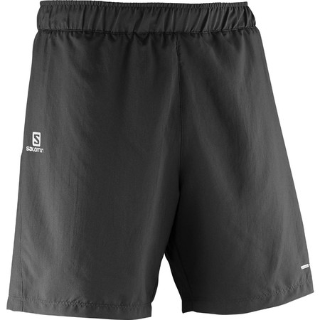 Salomon Park Short (2in1, ) - Extra Large Black | Running Shorts