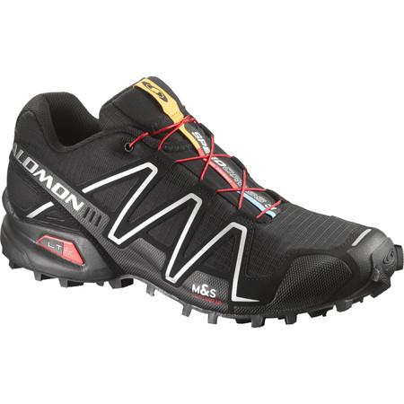 Salomon Speedcross 3 Shoes (Black, SS16) - UK 7.5 Black/Black/Silver