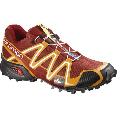 Salomon Speedcross 3 Yellow Shoes () - UK 9.5 Flea/Yellow/White