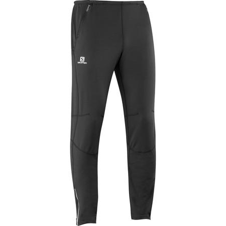 Salomon Trail Runner Warm Pant () - Large Black | Running Pants