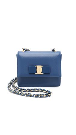 Salvatore Ferragamo Mini Ginny Bag - Sapphire