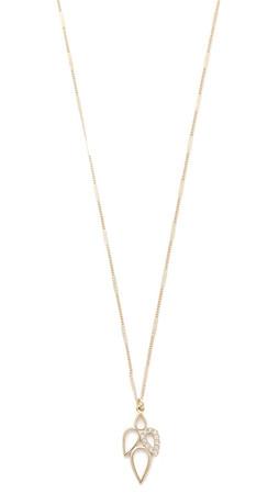 Sam Edelman Multi Tear Pendant Necklace - Gold