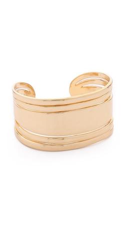 Sam Edelman Open Metal Cuff Bracelet - Gold