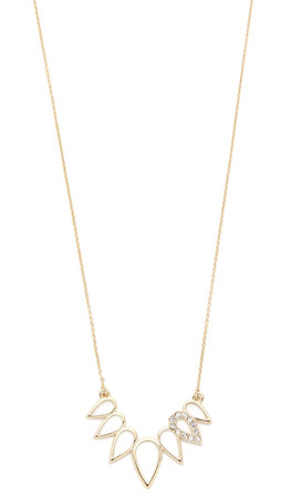 Sam Edelman Open Tear Necklace - Gold
