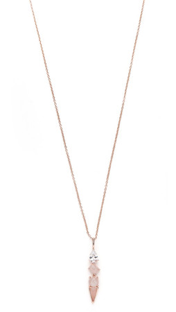 Samantha Wills Horse & Hummingbirds Necklace - Rose Gold