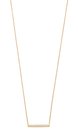 Samantha Wills Moonlight Mile Necklace - Clear/Gold
