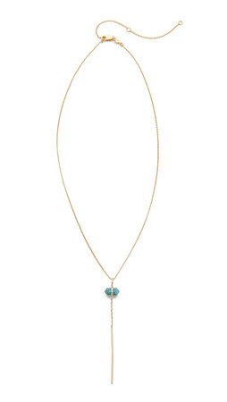 Samantha Wills Outsiders Drop Necklace - Turquoise/Gold