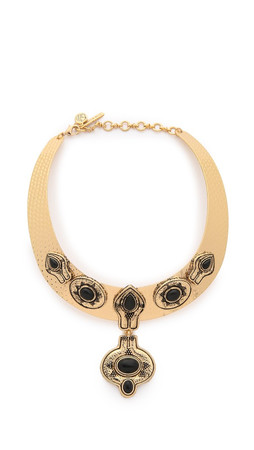 Samantha Wills The Villa Collar Necklace - Antique Gold Multi