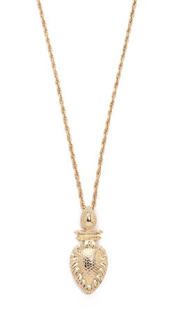 Samantha Wills Wolrd From Here Pendant Necklace - Antique Gold