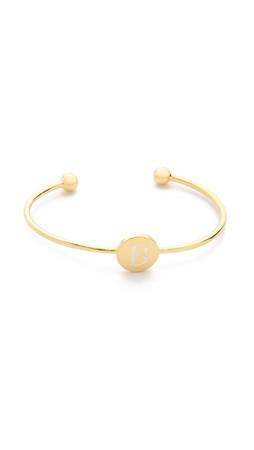 Sarah Chloe Ella Engraved Adjustable Bracelet - B