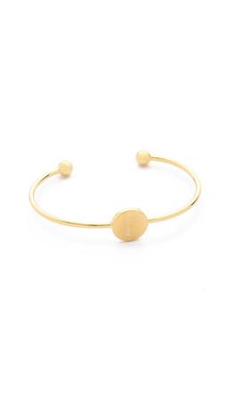 Sarah Chloe Ella Engraved Adjustable Bracelet - F