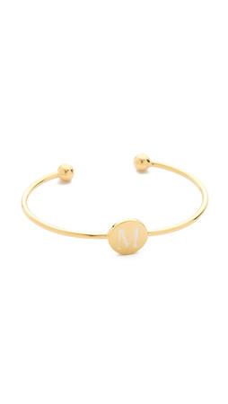 Sarah Chloe Ella Engraved Adjustable Bracelet - M