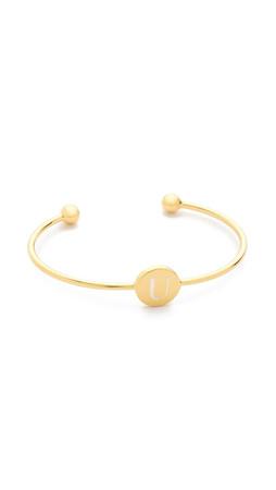 Sarah Chloe Ella Engraved Adjustable Bracelet - U