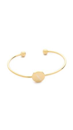 Sarah Chloe Ella Engraved Adjustable Bracelet - X