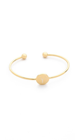 Sarah Chloe Ella Engraved Adjustable Bracelet - Y