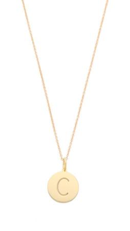 Sarah Chloe Eva Engraved Pendant Necklace - C