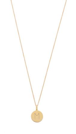 Sarah Chloe Eva Engraved Pendant Necklace - M