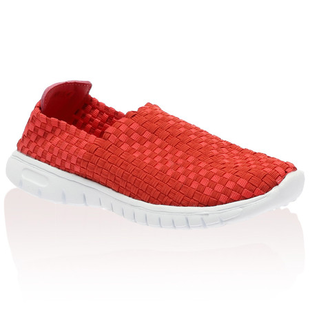 Scout Coral Woven Trainer