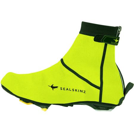 SealSkinz Open Sole Neoprene Overshoes - Small Yellow/Black