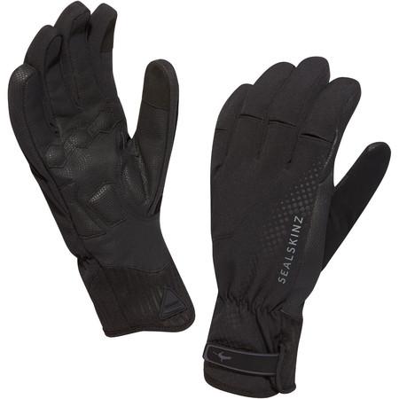 SealSkinz Highland XP Gloves - Large Black/Black | Long Finger Gloves