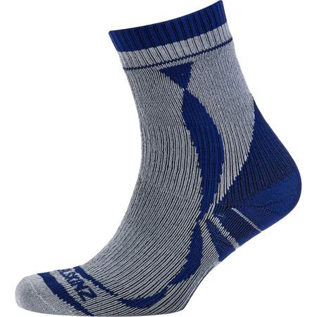 SealSkinz Thin Ankle Length Socks - Small Grey | Waterproof Socks