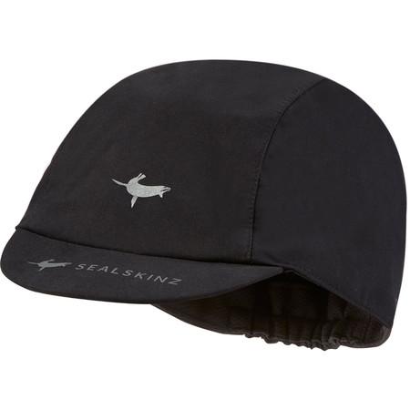 SealSkinz Waterproof Cycling Cap - Large/X-Large Black