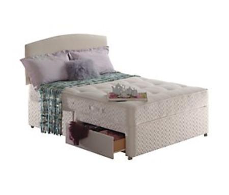 Sealy ortho millionaire 2 drawer divan set
