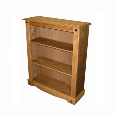 Seconique Original Corona Pine 3 Shelf Bookcase