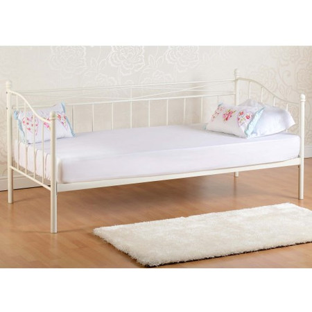 Seconique Pandora Day Bed in Ivory