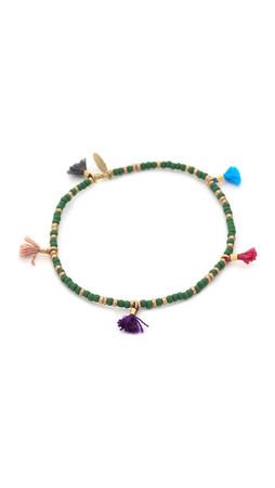 Shashi Ana Lilu Bracelet - Green