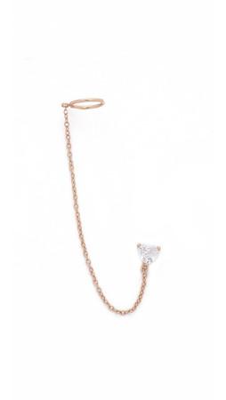 Shashi Cuff Earring - Rose Gold