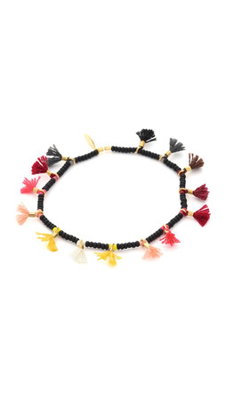 Shashi Jamie Lilu Bracelet - Black Multi