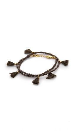 Shashi Laila Crystal Bracelet - Pyrite