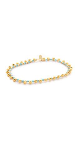 Shashi Lilu Ball Bracelet - Teal