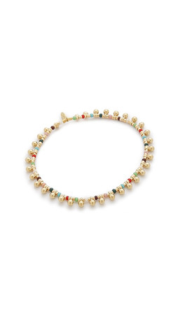 Shashi Lilu Gold Ball Bracelet - Gold/Mix
