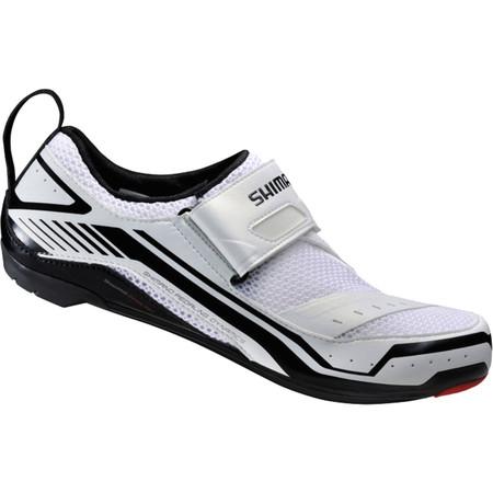 Shimano TR32 Triathlon Cycling Shoes - 39 White | Tri Shoes