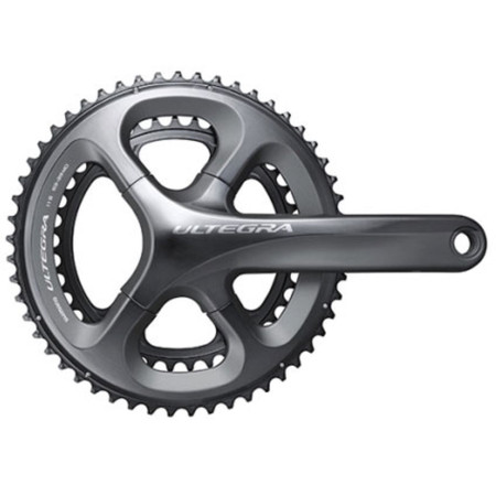 Shimano Ultegra 6800 11-Speed Double Chainset - 165mm x 53/39 Grey