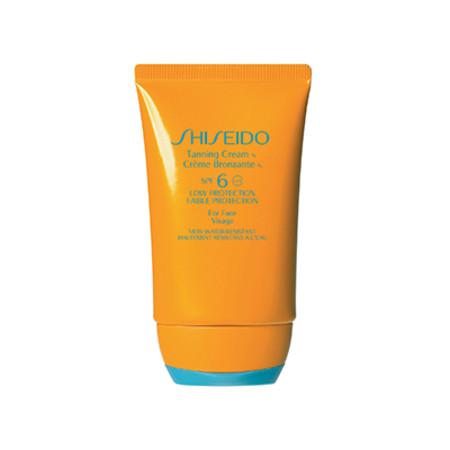 Shiseido Anti-Aging Suncare Tanning Cream Face SPF6