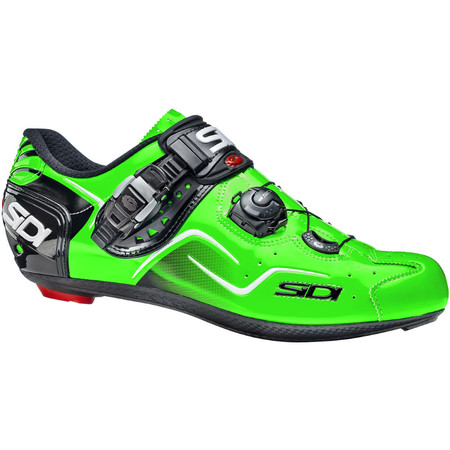 Sidi Kaos Road Shoes - 2015 - 39 Green Fluo | Road Shoes