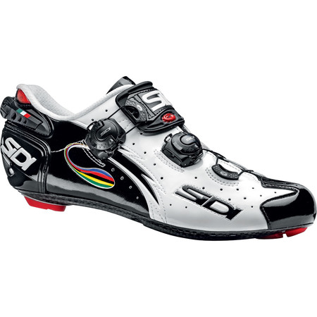 Sidi Wire Carbon Vernice Road Shoes - 2015 - 38 White/Black/i-Ride