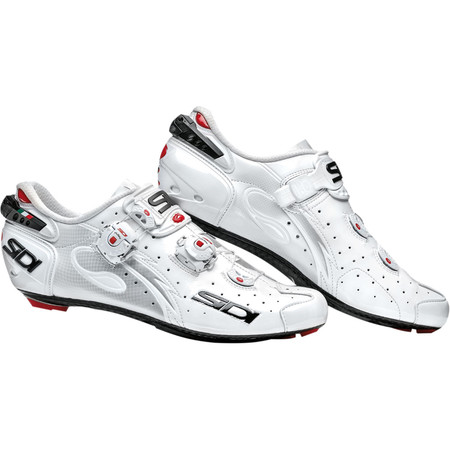 Sidi Wire Carbon Vernice Road Shoes - 2015 - 39 White/White